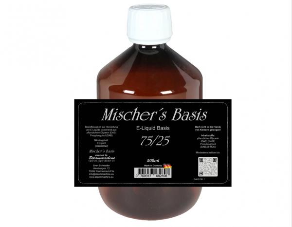 500ml Mischer´s Basis 75/25