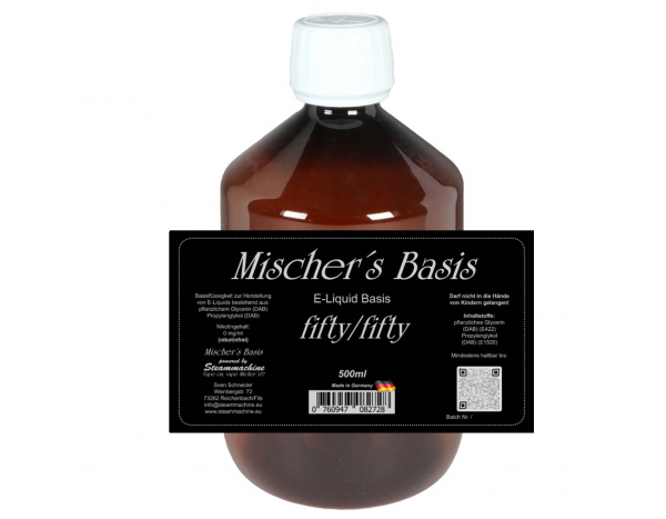 500ml Mischer´s Basis fifty/fifty