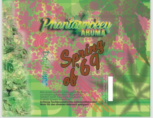 Phantasmokey - Spring of 69 10/60ml ohne Nikotin