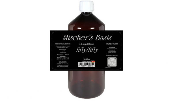 1000ml Mischer´s Basis fifty/fifty