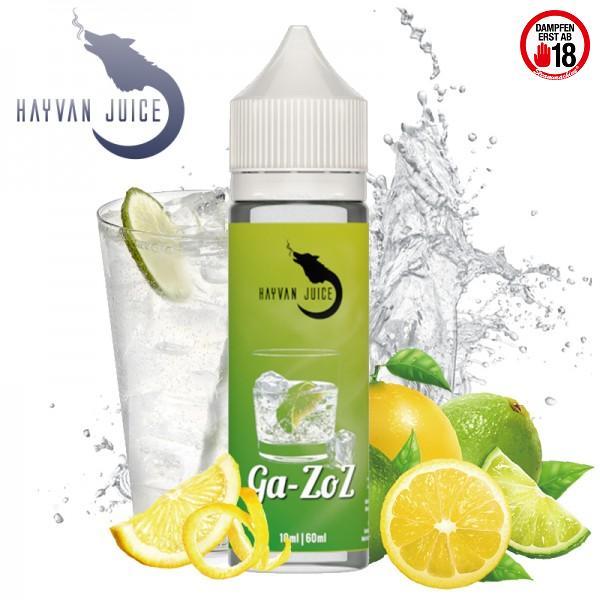 Hayvan Juice Ga-Zoz 10/60 ml Aroma für E-Liquid