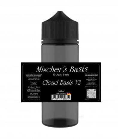"100/120ml Mischer´s Basis Cloud Basis V2 ""Chubby Gorilla V3"""